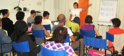 Uno de nuestros cursos - con Natividad Jiménez